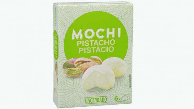 Mochis de pistacho de Mercadona.