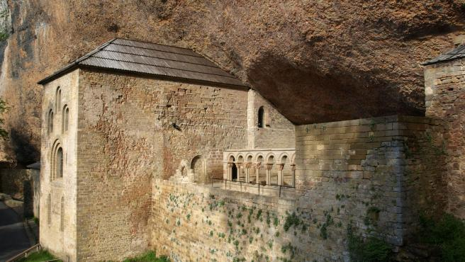 Real Monasterio de San Juan de la Peña (Aragón, España)