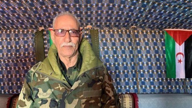 Fotografía de archivo del líder del Frente Polisario, Brahim Ghali.