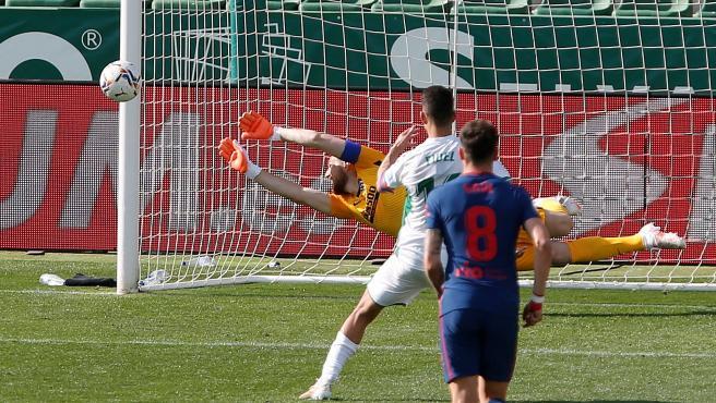 El penalti en el Elche vs. Atlético