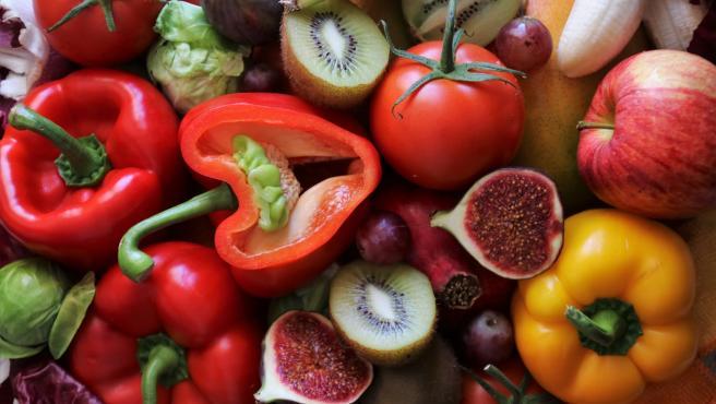 Frutas, verduras y hortalizas.