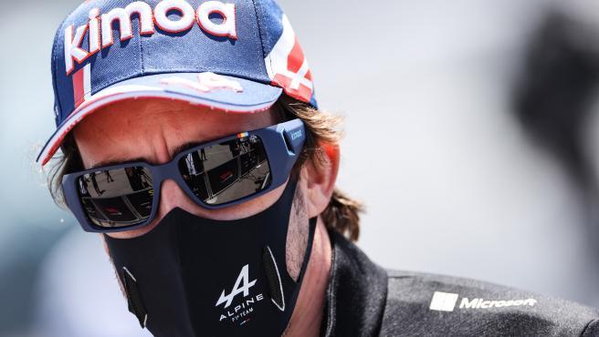 Fernando Alonso, en Portugal