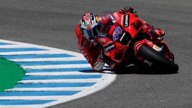 Jack Miller, en el GP de España de MotoGP