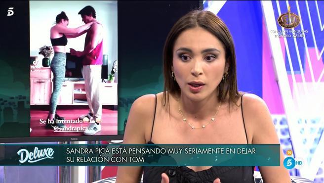 Sandra Pica, en 'Sábado Deluxe'.