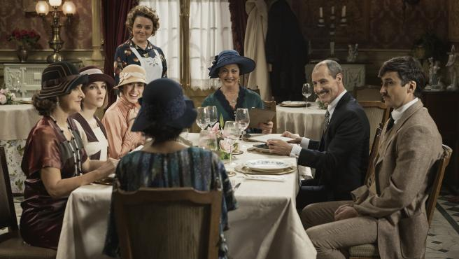 Escena de la serie de TVE 'Acacias 38'.
