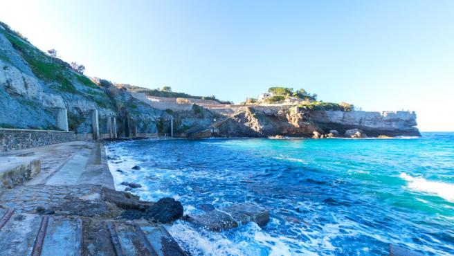 Cala Banyalbufar, en Mallorca.