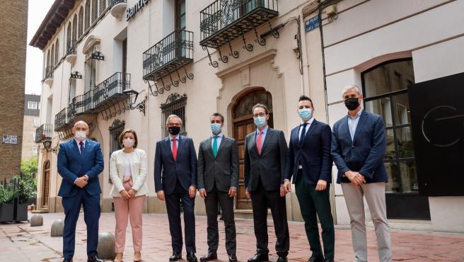 Grupo San Valero firma con Caja Rural de Aragón usar el edificio de la calle San Voto como sede corporativa