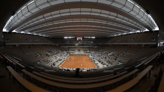 Pista central de Roland Garros.