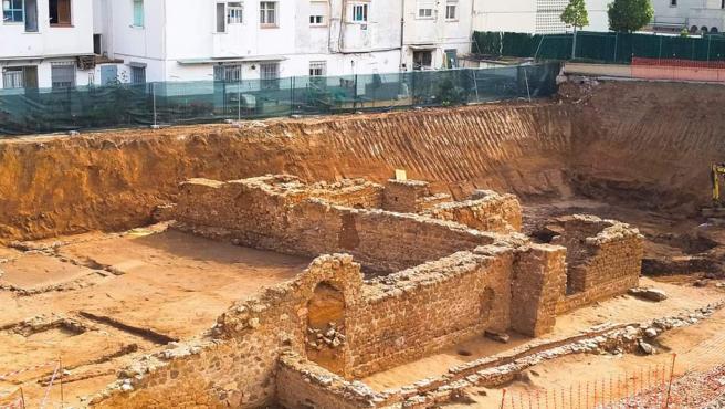 Yacimiento romano del Roser en Calella (Barcelona)