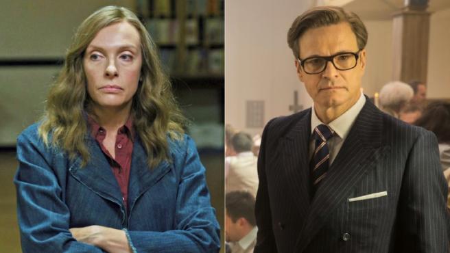 Toni Collette y Colin Firth