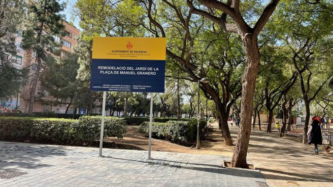 El Parque Manuel Granero de Russafa se someterá a una remodelación integral.