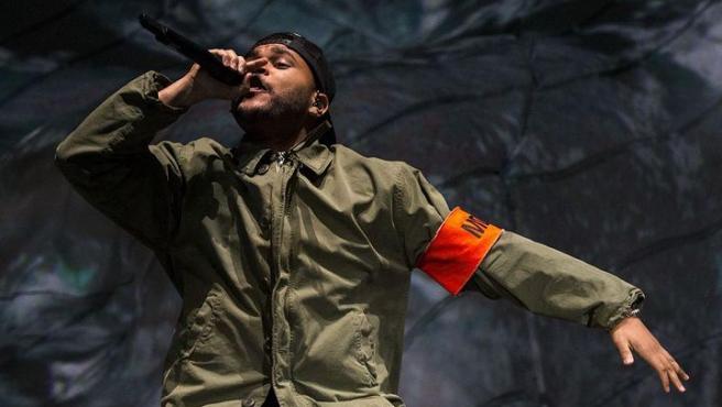 El cantante The Weeknd.