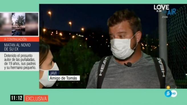 Amigo de Tomás, padre de las niñas desaparecidas en Tenerife.