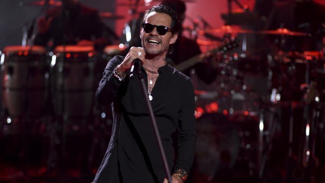 Marc Anthony en los Premios de la Música Latinoamericana.