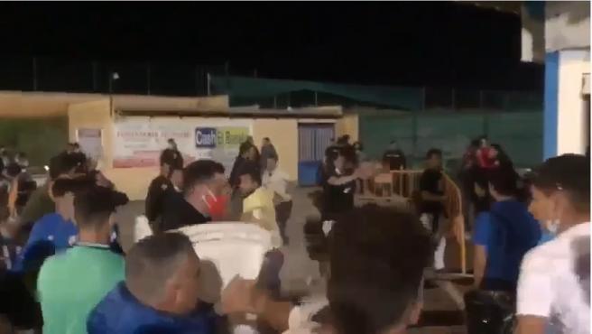 Sucesos.- Identificadas más de 40 personas por los altercados del partido de fútbol de Villaverde