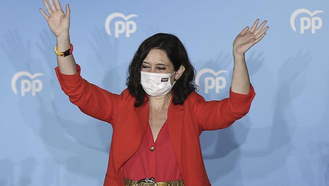 Ayuso gana las elecciones de Madrid