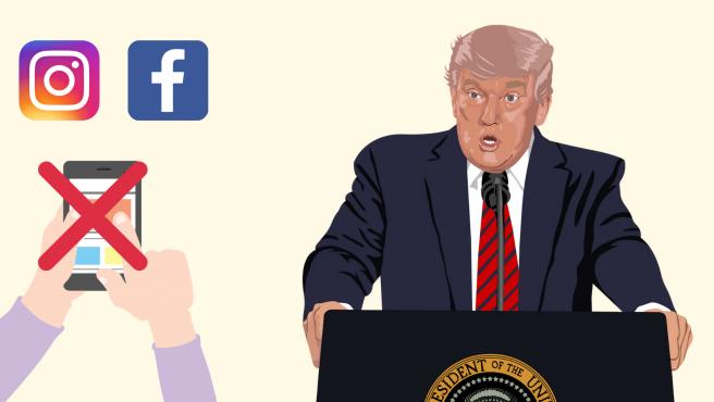 El expresidente lleva sin poder usar sus redes sociales desde enero.