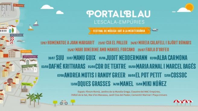 El Festival Portalblau amplía disciplinas y abrirá con un homenaje a Joan Margarit