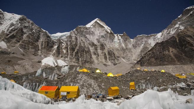 Campo base del Everest.