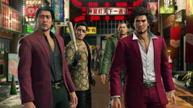 Imagen del videojuego 'Yakuza'.