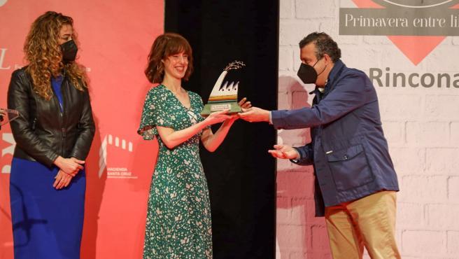 La Rinconada reconoce a Irene Vallejo con el Premio Factoría Creativa de las Letras 2021