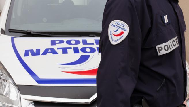 Imagen de recurso de un agente de la Policía Nacional francesa.