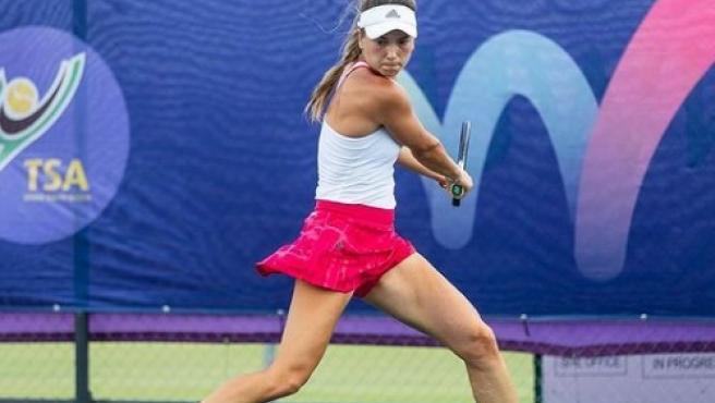 Sara Cakarevic, durante un partido.