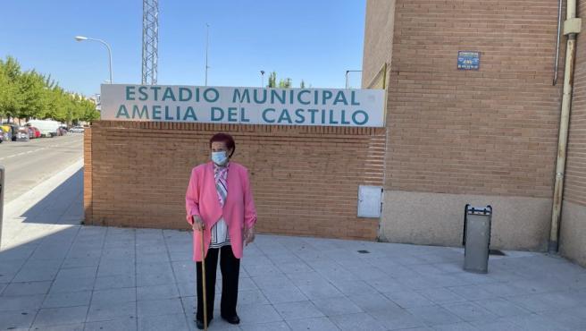 Amelia del Castillo, founder of Atlético Pinto.