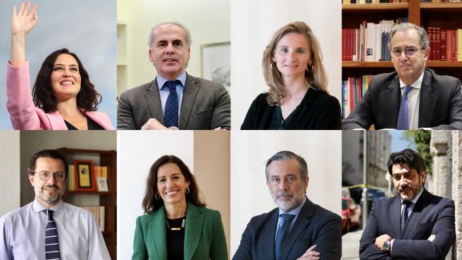 El gobierno de Madrid está integrado actualmente por el presidente y siete asesores.