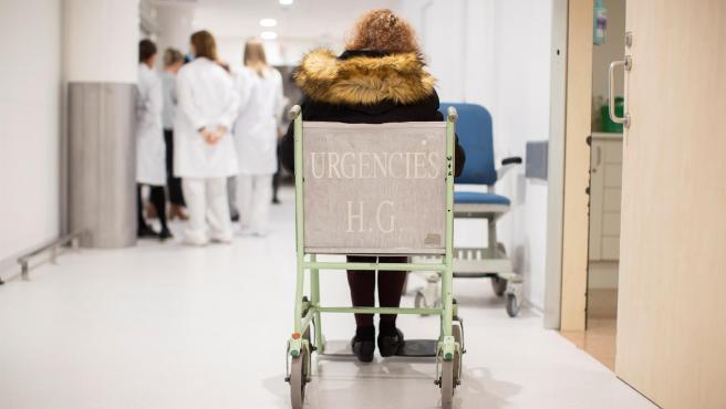 Urgencias del Hospital Vall d'Hebron de Barcelona.