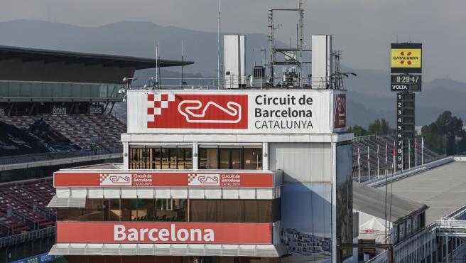 Torre del Circuit de Barcelona-Catalunya, en Montmeló