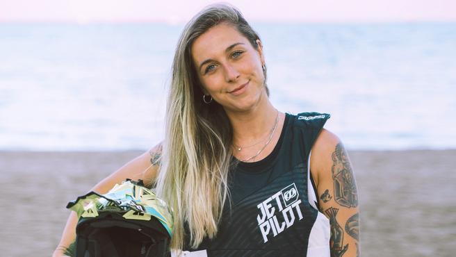 Cristina Lazarraga, campeona de Europa de jetcross y referente español de moto náutica