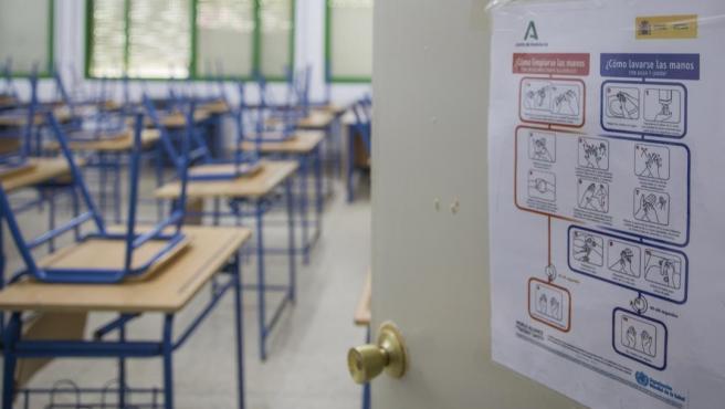 En cuarentena por COVID siete nuevas aulas en Burgos, Salamanca, Soria y Valladolid