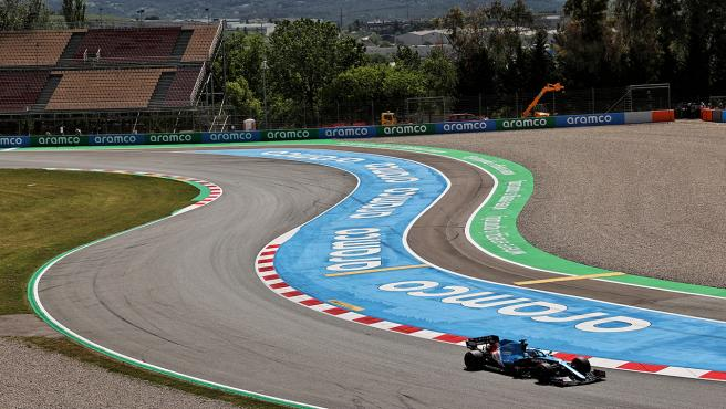 Fernando Alonso, at the Spanish GP
