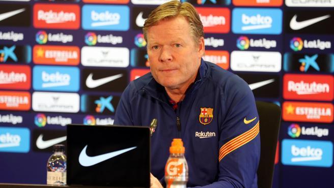 """Koeman: """"El del Atlético es un partido importante pero no decisivo"""""""