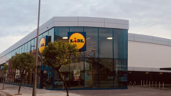 Imagen de un supermercado de Lidl.