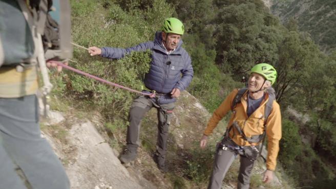 Miguel Ángel Revilla y Jesús Calleja, en 'Planeta Calleja'.