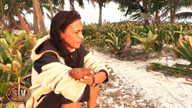 Olga Moreno en 'Supervivientes'.