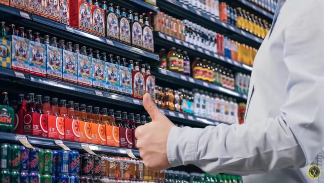 Captura del vídeo que expone cuánto tiempo podríamos sobrevivir en un supermercado.
