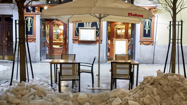Última noche del cierre de la hostelería en Madrid a las 23:00 horas