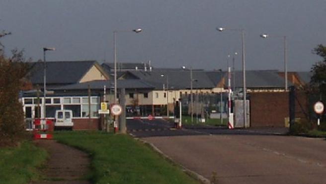 Centro de deportación de inmigrantes Yarl's Wood.