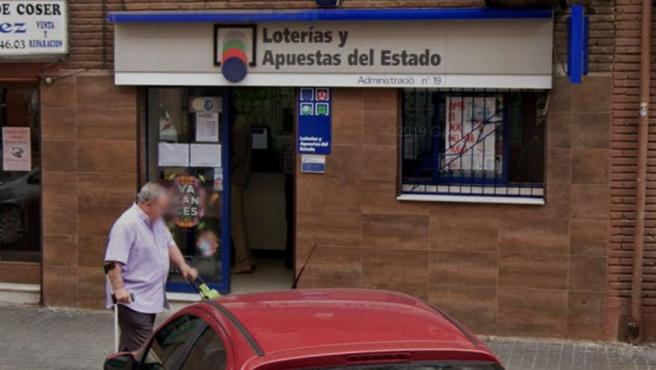 Administración de Loterías de Badalona.
