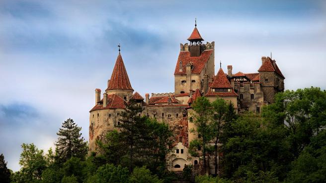 Imagen del castillo de Bran, Rumania.