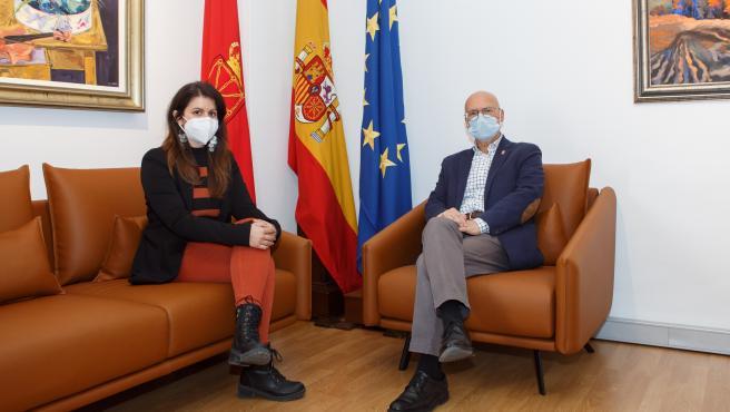 Cohesión Territorial invertirá este año 900.000 euros en la mejora de cuatro carreteras del entorno de Lodosa