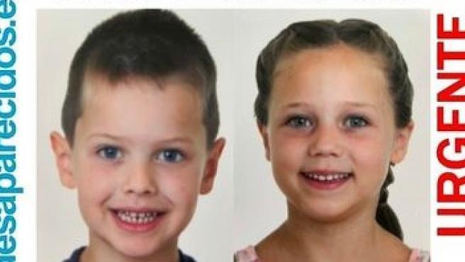 Dos menores desaparecidos.