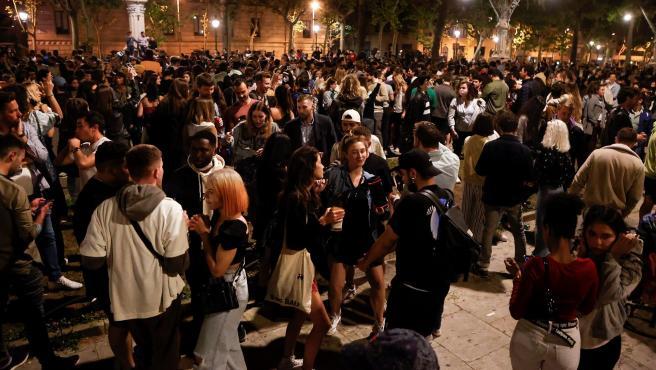 Barcelona en el fin del estado de alarma.