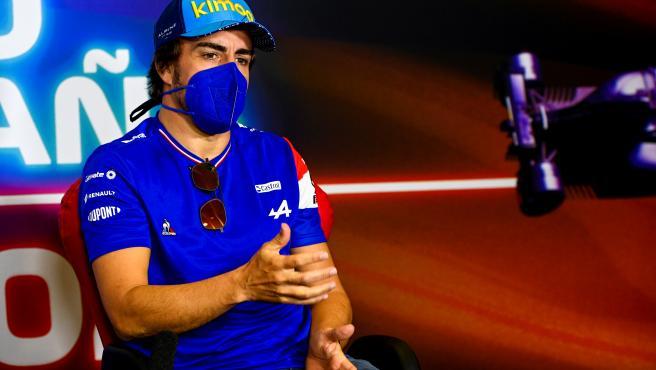 Fernando Alonso, at a press conference