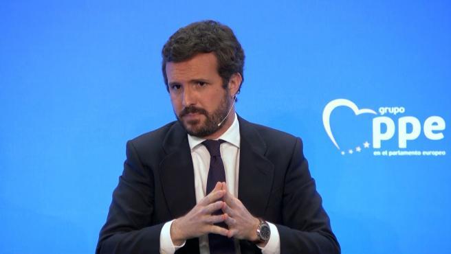 """Casado a Sánchez: Su """"irresponsabilidad cuesta vidas"""""""