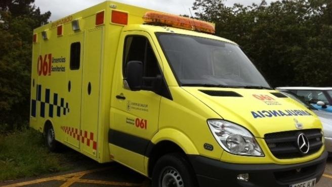 El 061 atendió a 61 personas debido a 49 accidentes de tráfico registrados el fin de semana en Galicia