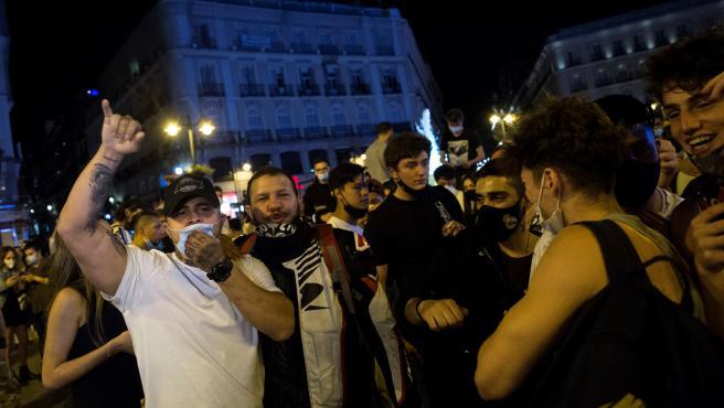 Puerta del Sol de Madrid tras el fin del estado de alarma.